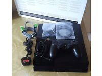 Ps4 Sony PlayStation 4 Console fully boxed with controller