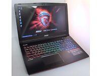 MSI Apache pro - Top of the range gaming laptop