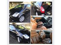 Citroen C2 code full tan leather mot very nice car too drive economical