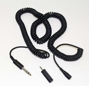 Headphone Extension Cord 7.6m / 25ft with Stereo Jack Adapter