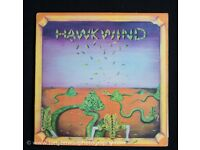 Hawkwind First Album Long playing Vinyl Record for Sale - Liberty Black Label