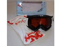 Dr Zipe Wee Man Level 1 kids' ski goggles