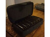 Full set of Bluesband Harmonicas - never been played