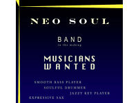 NEO SOUL band forming in Edinburgh