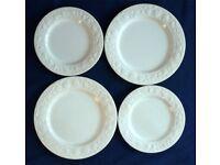 Franco Giorgi by Quadrifoglio china plates 1980s vintage - 42 pieces