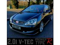 Honda civic type r premier edition px cash either way