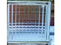 GLASS BLOCK BRICKS - £2.50 each ( 7cm x 19 cm x 19 cm )