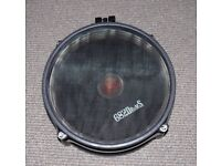 "Alesis DM Mesh Head Dual Zone 8"" Electronic Drum Pad conversion 682 drums 2 available"