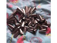 Piping nozzles, crimpers & pack of piping bags
