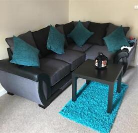 New corner sofa