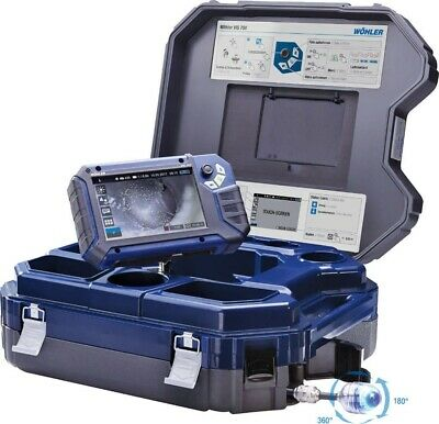 Wohler Vis 700 Hd Video Inspection System Sewer Inspection Camera