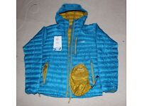 Rab Men's Microlight Alpine Jacket, Merlin - Size Med, Minimal Use [RRP £180]