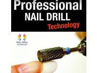 Professional Electric Acrylic Nail Drill & Drill Bits.