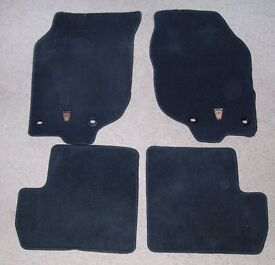 Rover 25 car mats, genuine Rover parts, full set of four, lightly used