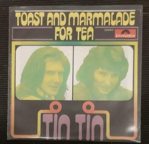 Tin Tin - toast & marmalade for tea