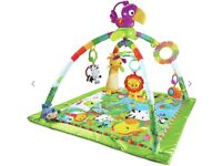Fisher price rainforest deluxe play mat