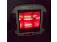 £23 ONO Sanitas infrared heat lamp