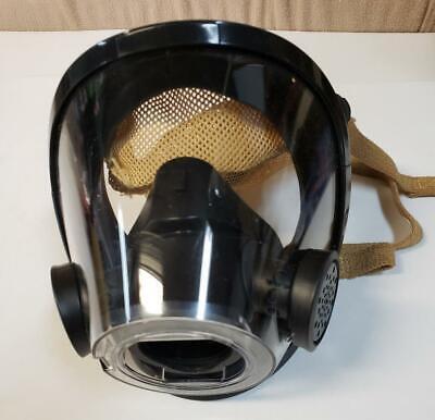 Scott Av3000 Scba Face Mask Firefighter Facepiece 805337-12 10011307 Med. Euc N