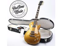 Gibson Les Paul Deluxe Goldtop Limited Edition & Original Gibson Hard Case