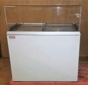 Ice Cream Cabinet - 8 tub Dipping Cabinet