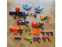 Nerf Gun bundle (bullets included)