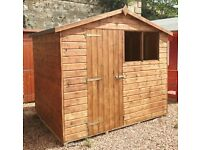 8ft x 6ft T&G Sheds