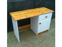 Lovely Solid Pine Dressing Table Complete Refurbished - Free Delivery In Southampton