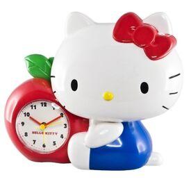 Hello Kitty Apple Money Box Alarm Clock.