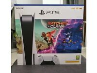 Playstation 5 with Ratchet & Clank Brand New sealed with a copy of the receipt