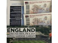 Eng vs Ind 2nd T20 cardiff