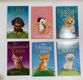 Six Holly Webb Children's books