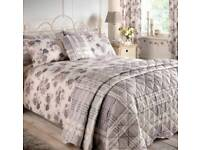 New Complete bedding set Inc bedspread & curtains £199