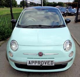 FIAT 500 1.2 CULT 3d 69 BHP MINT GREEN CULT - MINT GREEN ED (green) 2015