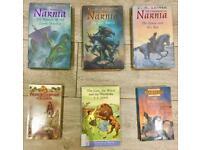 Narnia books including some hardbacks