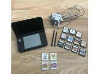 Nintendo 3ds XL with 15 games