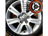 """17"""" Genuine Audi SE alloys Caddy Golf Leon perfect condition."""