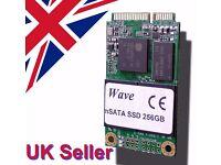 256GB miniPCI SSD SATAIII 460MBs/320MBs R/W Samsung Chip