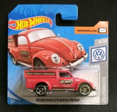 Hot Wheels '49 Volkswagen Beetle Pickup RED 47/250 2019 new on short card