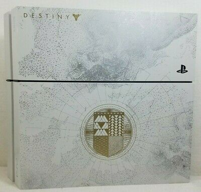 PlayStation 4 Destiny Edition - 500GB PS4 - Includes Controller & Cords - TESTED
