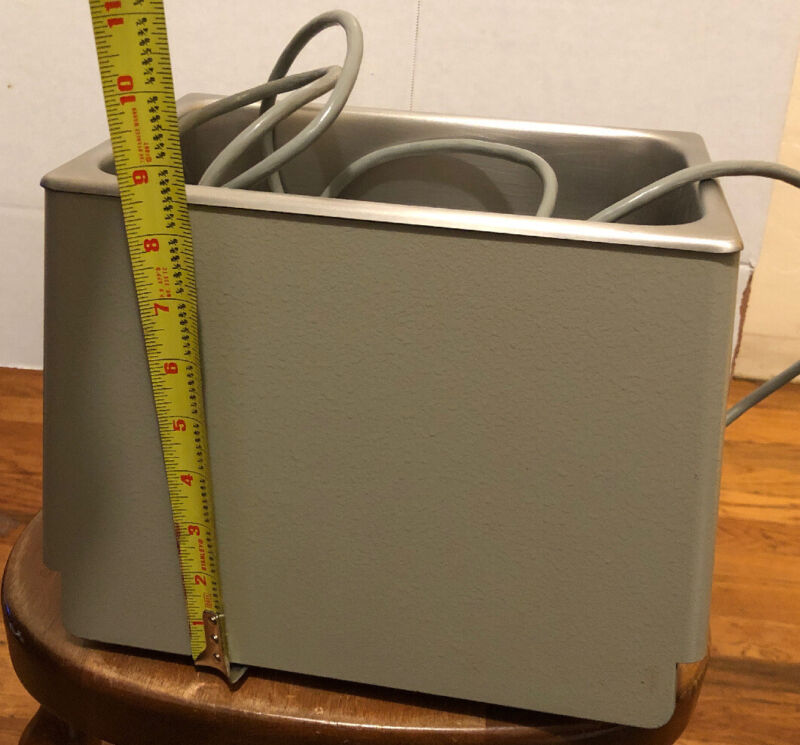 BRANSON B-220 ULTRASONIC CLEANER_POWERS UP & WORKS!~ BEST DEAL_AVAILABLE NOW!!!~