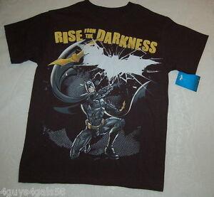 Boys t shirt dc comics batman xxl 18 rise from the for Xxl 18 xxl 2012 black
