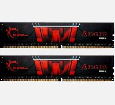 GSkill F4-3000C16D-16GISB Memoria RAM da 16 GB DDR4 3000 MHz CL16 Nero
