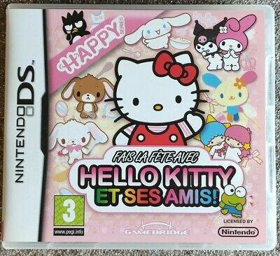 Fais la fête avec Hello Kitty et ses amis / Jeu Nintendo DS DSI 3DS 2DS NEW3DS