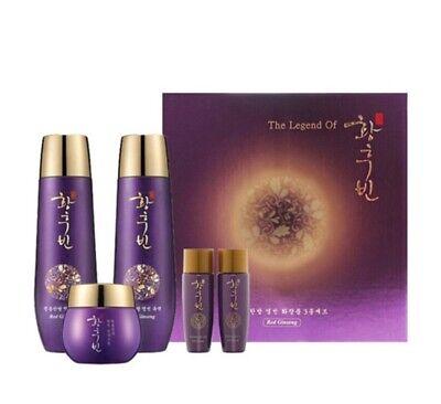 Korea cosmetic The legend of Empress Red ginseng 3 pcs set + Gift K-BEAUTY