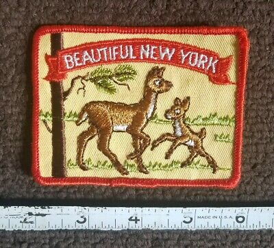hunter mountain vintage,patch,hunter new york,iron on new old stock 80/'s