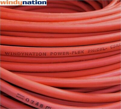 10 2 Awg Red Welding Cable Gauge Copper Wire Battery Solar Rv Car Boat Leads