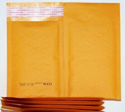 42 Kml-000 Self-sealing Gold Kraft Bubble Padded Envelope Mailers 5 X 7od