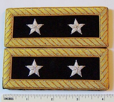 US 2 Star General Staff Officer Uniform Union Rank Army Boards Straps Civil - Union Officer Uniform