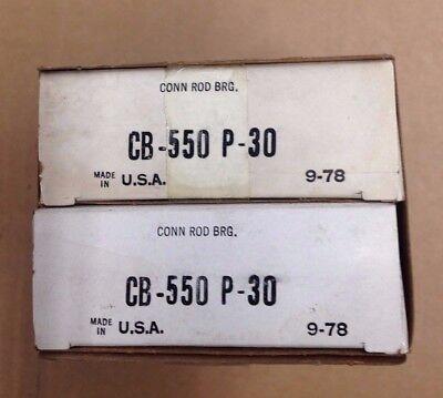 C175 C200 D188 Ihc Farmall Rod Bearing Set Of 4 Cb550p 030