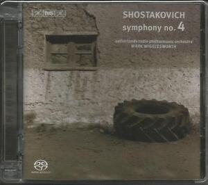 Sinfonie 4 C-Moll Op.43 - Schostakowitsch, Wigglesworth Hybrid SACD | Neu!